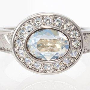 Touchstone Crystal Swarovski Riviera Ring
